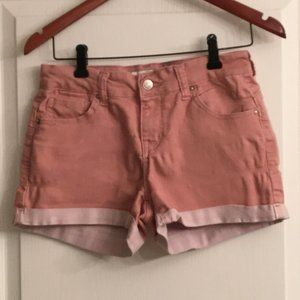 Forever 21 Pink Jean Shorts Size Medium